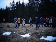 Дослідження зимових станів ландшафтів в ур. Бабина Яма