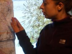 """Леськів Ліля доповідає з темою """"Ландшафтна структура Підволочиського району Тернопільської області"""""""