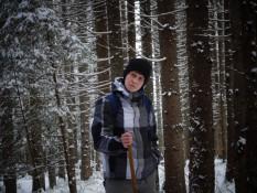 Лаборант кафедри фізичної географії Шандра Юрій