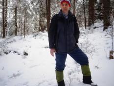 Польова лекція про методику дослідження структури снігового покрову від проф. Мельника А. В.