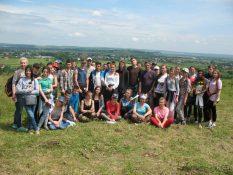 Географи 2 курсу на геоморфологічному розділі практики-Дністерський стаціонар