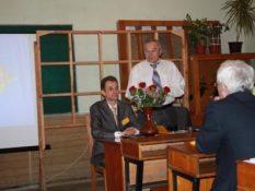 2010 р. Мельник А.В., Муха Б.П. в 47 ауд. відкриття міжнародного наукового семінару присвяченого 40-річчю РЛГС