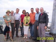 З іноземними науковцями на Високому замку