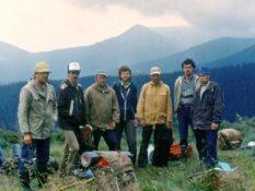 1989 р. Чорногора, Федірко О.М., Вороцянко, Муха Б.П.