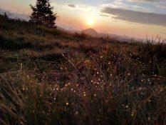 Олександр Зелінський Схід Сонця над горою Стіг jpg
