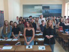 Привітання студентам 1 курсу